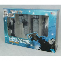 Fans Want It FWI-2 Battle Cannons and Arm Blades