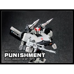 Guilty G-07 SHOULDER Missile Upgrade Kit for Transformers MP-17L