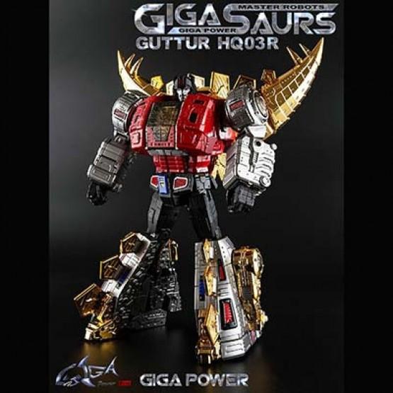 Gigapower GP HQ-03R Gutter (Chrome)