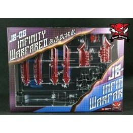 TFC -JB06 Infinity warfare II weapon set (Red)