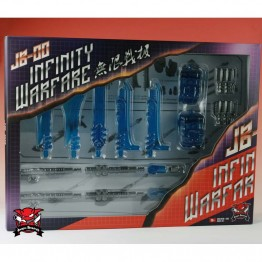 TFC Power Up Kits JB-00 SET for Predaking (BLUE)