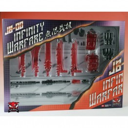 TFC Power Up Kits JB-00 SET for Predaking (RED)