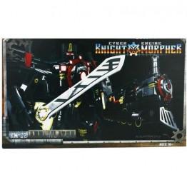 MMC KM-02 Hearts of Steel OP - Knight Morpher Black Com