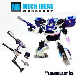 MECH iDEAS Reveal Longblast Weapons Accessory Set
