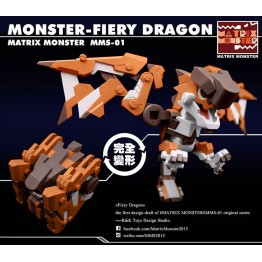 Fiery Dragon   Martix Monster MMS-01