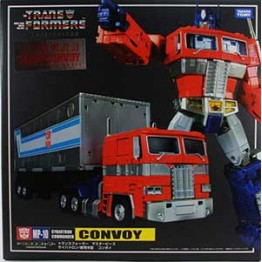 TakaraTomy MP-10 Optimus Prime with coin