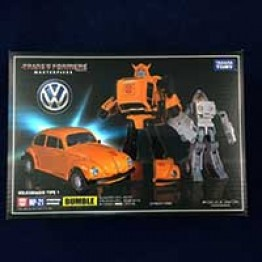 TakaraTomy MP-21 Bumble Bee (Long Life Design Edition) with coin