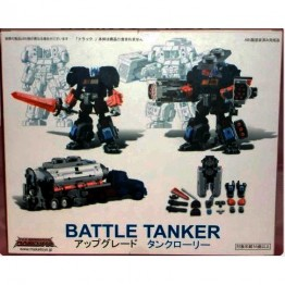 Make Toys G2 Optimus Prime Battle Tanker Add On Kit with OP Head