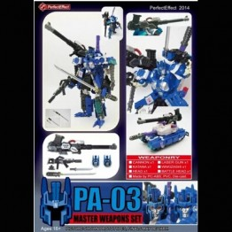 Perfect Effect PA-03 Master Weapons Set.