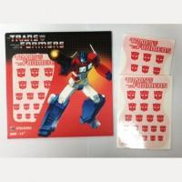Transformers Logo Sticker Autobot (Water Decal)