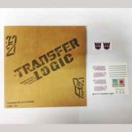TRANSFER-LOGIC Sticker for TW-01 HEGEMON