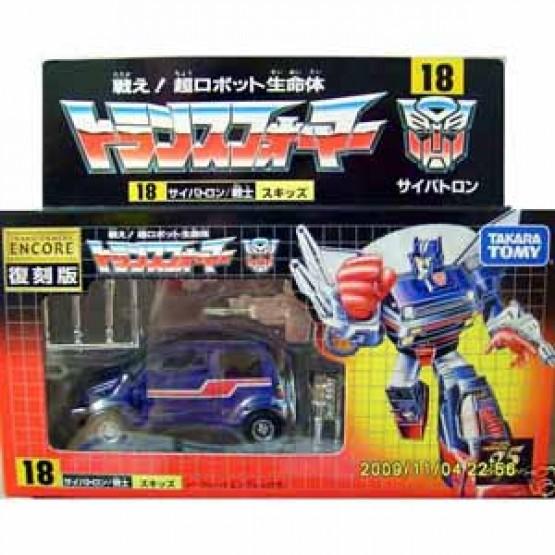 Transformers G1 skids  Encore 18 G1 reissue