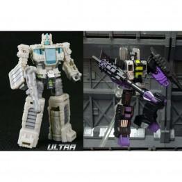 TFC  Target Master White Optimus & Skywar