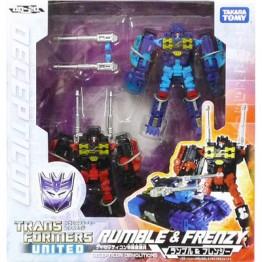 TakaraTomy Transformers United UN20 Rumble & Frenzy