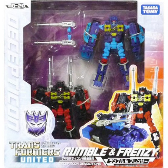 TakaraTomy Transformers United UN20 Rumble & Frenzy