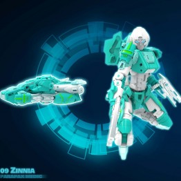 MMC Reformatted R-08Z Zinnia Parapax Medic (Green)