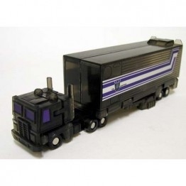 Smallest WST 2.5 Optimus Prime Clear Black with battle
