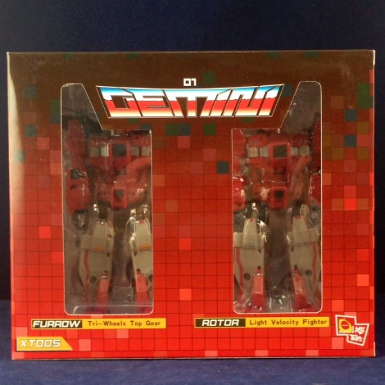 X2toys XT005 Gemini G01 Furrow & Rotor + DKR002