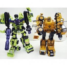 Diecast construction Robot 5